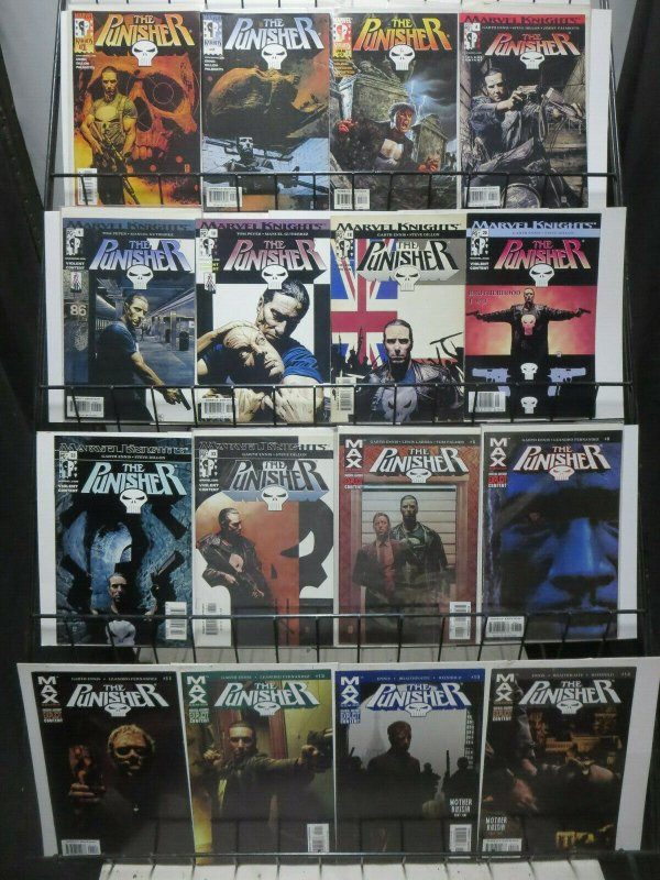 Punisher Garth Ennis Lot of 22Diff Vigilante Action from Marvel Knights + MAX!