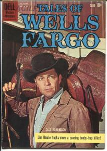 Tales of Wells Fargo-Four Color Comics #1113 1960-Dell-Dale Robertson-VG