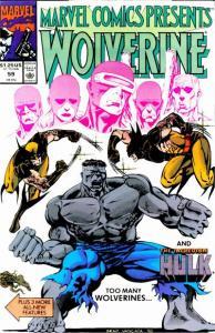 Marvel Comics Presents (1988 series) #59, VF+ (Stock photo)