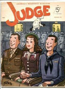 Judge Magazine April 1945- Vic Herman- Boltinoff