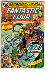 5 Fantastic Four Marvel Comics # 170 171 185 (0.35) 187 (35) 198 VG/FN Range BD1