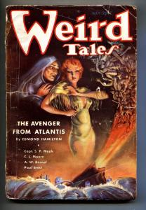 Weird Tales July 1935- Brundage cover- Avenger from Atlantis-Pulp Magazine