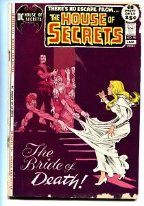 HOUSE OF SECRETS #95 '72 DC COMICS DON HECK JOE MANEELY G