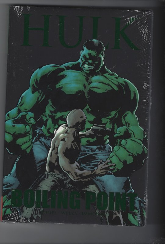 THE INCREDIBLE HULK BOILING POINT HARDCOVER