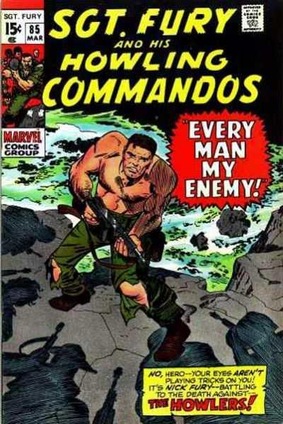 Sgt. Fury #85, VG (Stock photo)