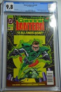 Green Lantern #50 (1994) CGC 9.8, Newsstand, 1st Kyle Raynor, RARE!!