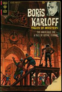 BORIS KARLOFF TALES OF MYSTERY #30-HORROR COMIC G