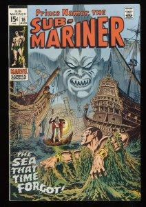 Sub-Mariner #16 VF- 7.5 Marvel Comics