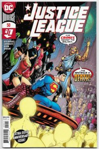 Justice League #50 Main Cvr (DC, 2020) VF/NM