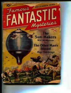 Famous Fantastic Mysteries-Pulp-12/1940-John D MacDonald