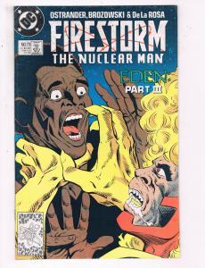 Firestorm The Nuclear Man #79 VF DC Comics Flash TV Comic Book Ostrander DE21