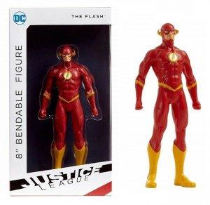 DC Justice League The Flash 8 Bendable Figure - New!