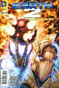 Earth 2 #31, NM + (Stock photo)