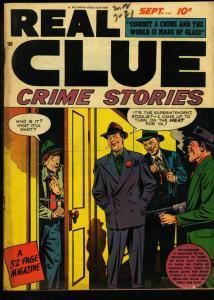 REAL CLUE CRIME STORIES V.3 #7-PRE CODE CRIME VIOLENCE FN-