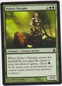 Magic the Gathering: Theros - Nylea's Disciple