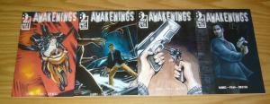 Awakenings #1-4 VF/NM complete series - 8th day comics - eric hobbs - gabe pena