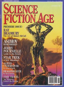 Science Fiction Age Magazine #1 POOR; Sovereign Media | low grade comic - save o