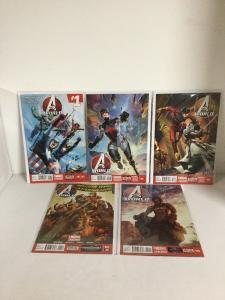 Avengers World 1 2 3 4 5 Lot Set Run Nm Near Mint Marvel Now