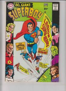 Superboy #147 FN june 1968 - DC 80 page giant G-47 - legion of superheroes