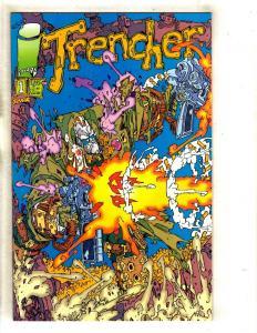 Lot Of 5 Trencher # 1 NM Image Comic Books 1st Prints MR8