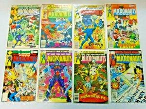 Bronze Age Micronauts Comic Set #1-59 + Annual #1-2 61 Diff Average 7.0 (1979)
