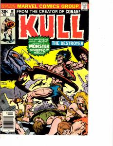 Lot Of 2 Marvel Comic Books Skull The Slayer #8 and Kull #18 ON1