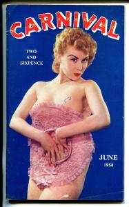 Carnival 1/1958-UK published-Cheesecake pix-FN