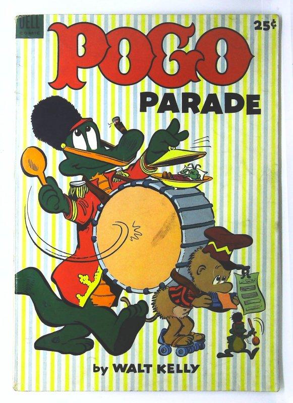 Dell Giant Comics: Pogo Parade #1, VG+ (Actual scan)