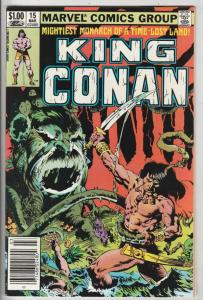 King Conan #15 (Mar-83) FN/VF+ High-Grade Conan the Barbarian