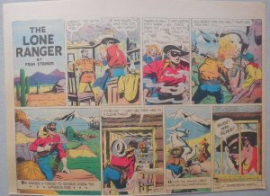 Lone Ranger Sunday Page by Fran Striker and Charles Flanders from 5/9/1943
