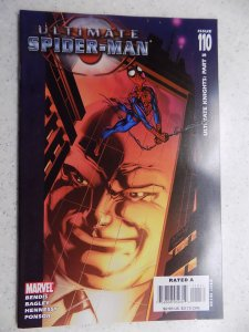 ULTIMATE SPIDER-MAN # 110