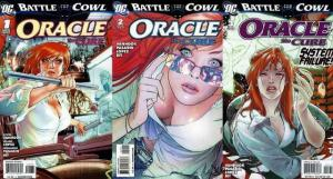 ORACLE THE CURE (2009) 1-3  COMPLETE!!! Battle for the COMICS BOOK