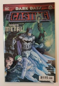Dark Days: The Casting Prelude To Metal Foil Cover Dc Comics 2017 VF/NM