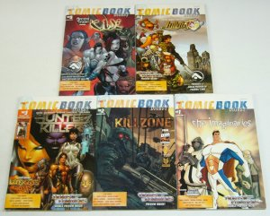 Comic Book Digest #1-5 complete series - oddly normal - transformers erik larsen