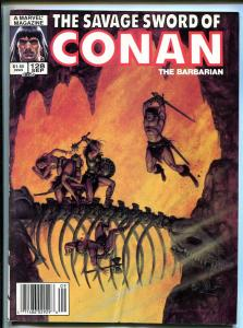 SAVAGE SWORD OF CONAN BARGAIN LOT OF 4 1986-MARVEL-ISSUES #128-#130-#131-#132