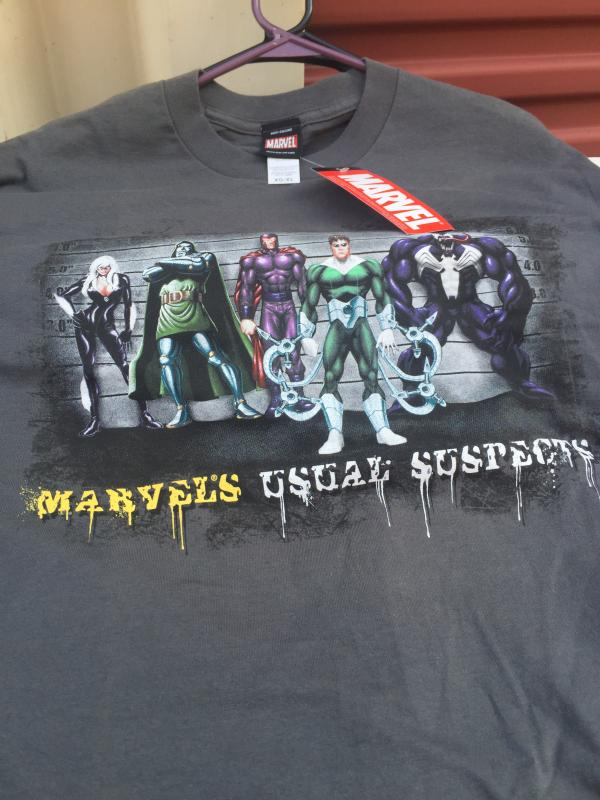 MARVEL T-shirt MARVEL'S USUAL SUSPECTS