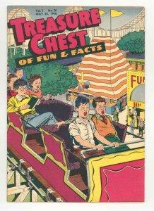TREASURE CHEST v3 #20 RARE .1947. HISTORIC Feast Of Corpus Christi - HIGH  VF