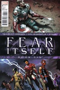 Fear Itself #6, NM- (Stock photo)