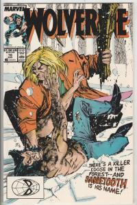Wolverine #10 (Aug-89) NM Super-High-Grade Wolverine