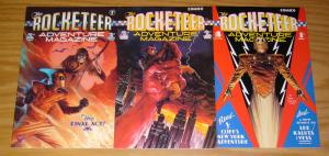 Rocketeer Adventure Magazine #1-3 VF/NM complete series DAVE STEVENS comics 2