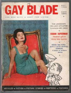 Gay Blade #1  12/1956-1st issue-exploitation-scandal-Bill Ward art-G/VG