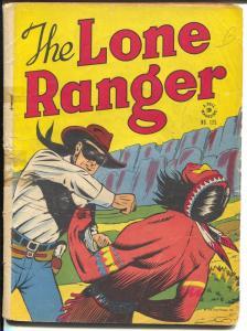 Lone Ranger-Four Color Comics #125-1946-Dell-white shirt & blue pants-FR