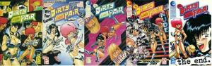 DIRTY PAIR III A PLAGUE OF ANGELS (1990 EC)1-5 COMPLETE