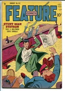 FEATURE #142 1950-QUALITY-STUNTMAN STETSON-good