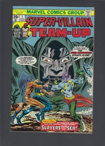 Super-Villain Team-Up #1 (1975)