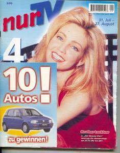 nur TV-Heather Locklear-German TV Guide-July-1998