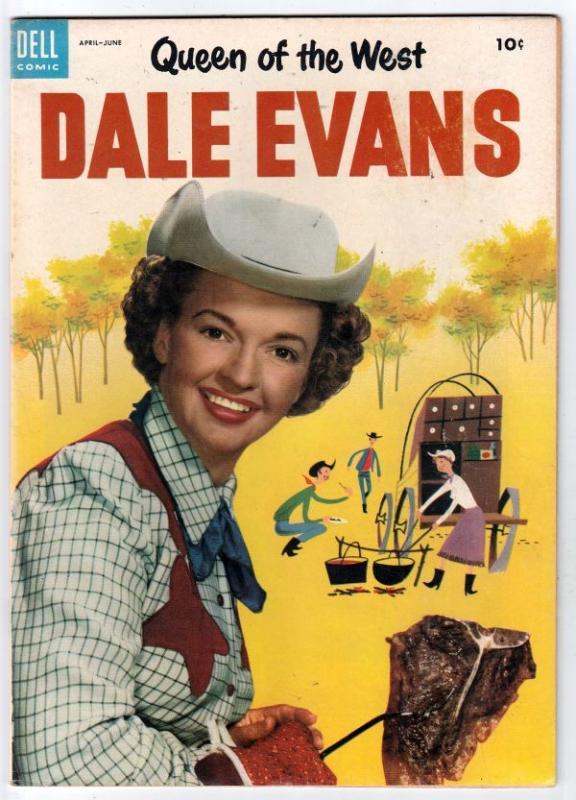 Queen of the West Dale Evans #3 (Jun-54) VF/NM High-Grade Dale Evans