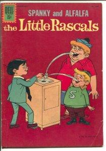 Little Rascals-Four Color Comics #1297 1962-Dell-dinosaur cover-VG