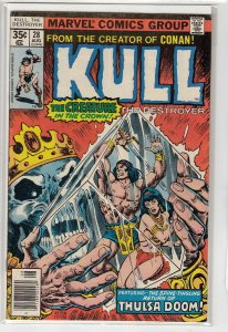 KULL THE CONQUEROR (1971 MARVEL) #28 VG+ A15518
