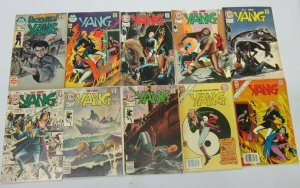 Yang Kung-Fu comics lot 10 different books various conditions (Bronze years)